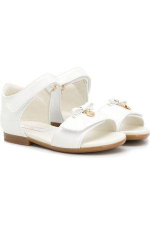 Dolce & Gabbana Kids Flat sandals with bow