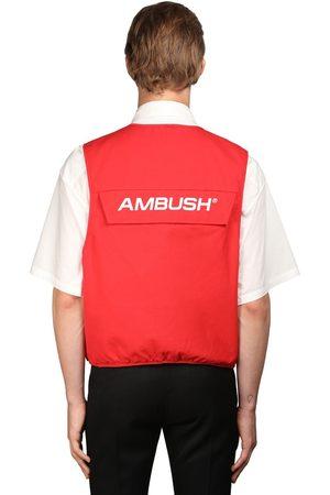 AMBUSH | Hombre Chaleco Utility De Algodón Con Bolsillos 1