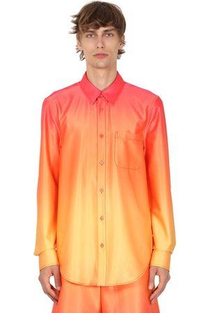 Sies marjan   Hombre Camisa Stretch Con Estampado Degradé /rojo M