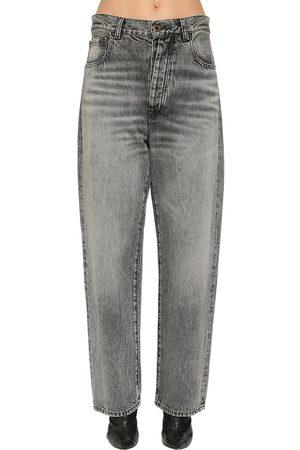 UNRAVEL   Mujer Jeans Baggy De Denim De Algodón 24
