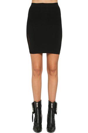UNRAVEL | Mujer Mini Falda De Malla Xs