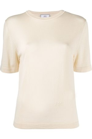 Ami Camiseta de punto con manga corta