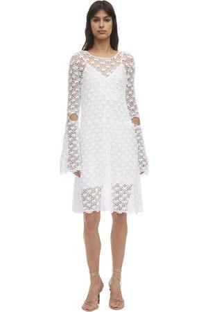 Liya | Mujer Vestido Abierto De Crochet 34