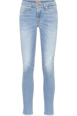 7 For All Mankind Pantalones skinny Pyper cropped