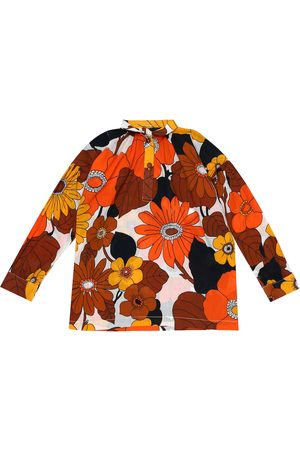 Dodo Bar Or Kids Camisa de algodón floral