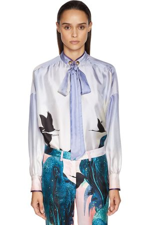 F.R.S For Restless Sleepers   Mujer Camisa Jacquard Con Estampado /multi Xs