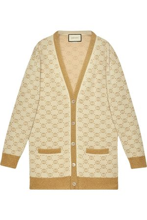 Gucci Cárdigan con motivo GG y botones