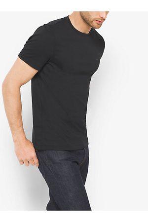 Michael Kors Mens Hombre Camisetas - Camiseta De Cuello Redondo En Algodón