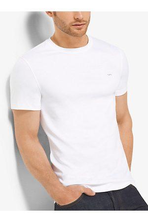 Michael Kors Mens Camiseta De Cuello Redondo En Algodón