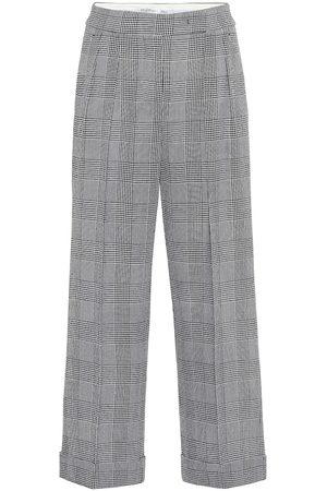 Max Mara Pantalones anchos Erise de lana