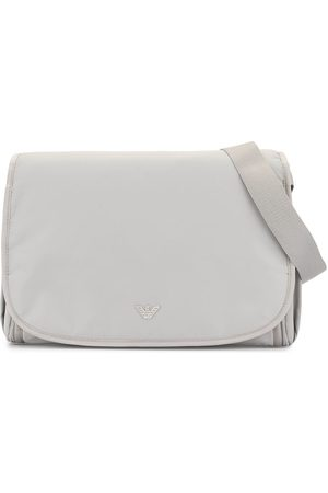Emporio Armani Logo plaque changing bag