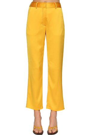 Sies marjan   Mujer Pantalones Cropped Con Cintura Alta 0