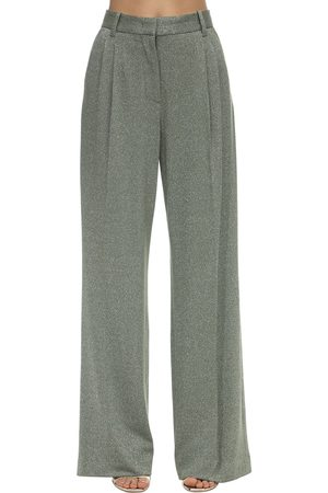M Missoni | Mujer Pantalones Acampanados De Jersey De Lúrex 38