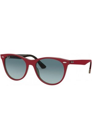 Ray-Ban RB2185 12963M RED ON Trasparent Grey
