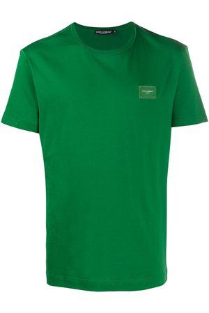 Dolce & Gabbana Camiseta con parche del logo