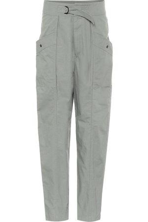 Isabel Marant, Étoile Pantalones Zilyae de algodón