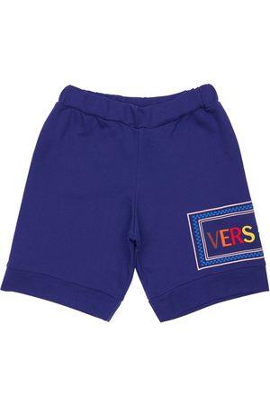 VERSACE   Niño Shorts Deportivos De Algodón Con Logo 8a