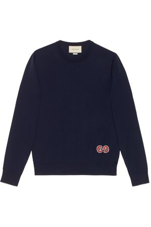 Gucci Hombre Jerséis y suéteres - Jersey de lana con GG