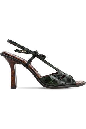 Sies marjan | Mujer Sandalias De Piel Efecto Cocodrilo 90mm 37