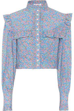 Paco rabanne Blusa de algodón floral
