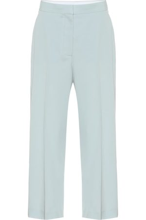 Stella McCartney Pantalones rectos de tiro alto