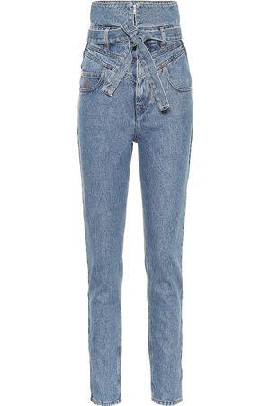 The Attico Jeans rectos de tiro alto