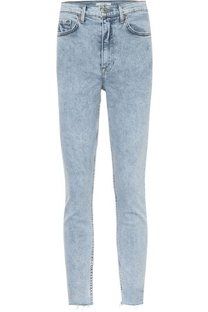 GRLFRND Jeans skinny Karolina de tiro alto