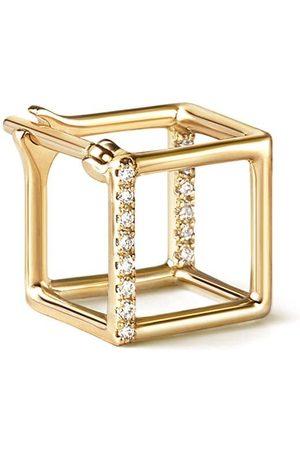 SHIHARA Pendiente estilo cubo 7 (01)