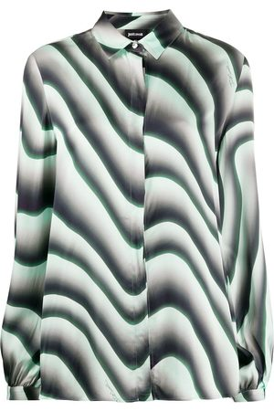 Roberto Cavalli Mujer Estampadas - Camisa con estampado de ilusión