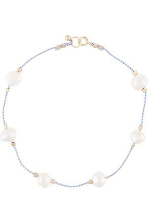 Petite Grand Tobillera de cuerda con detalles de perlas