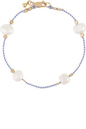 Petite Grand Pulsera de cuerda con perlas de agua dulce