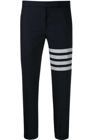 Thom Browne Mujer Joggers - Pantalones joggers con detalle de rayas