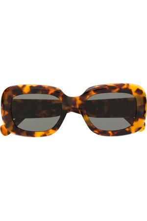 Retrosuperfuture Gafas de sol con diseño de manchas habana
