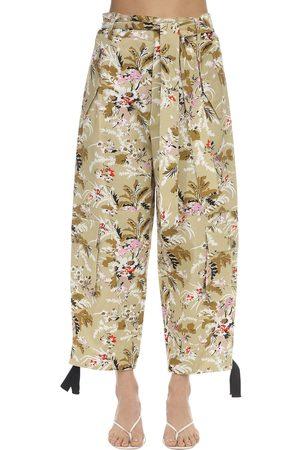 Colville | Mujer Pantalones Cargo Con Estampado Y Cintura Alta 38