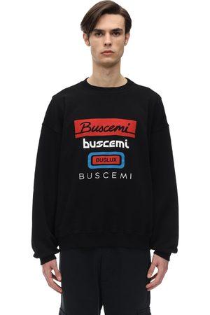 BUSCEMI | Hombre Sudadera Oversize De Algodón Con Logo S