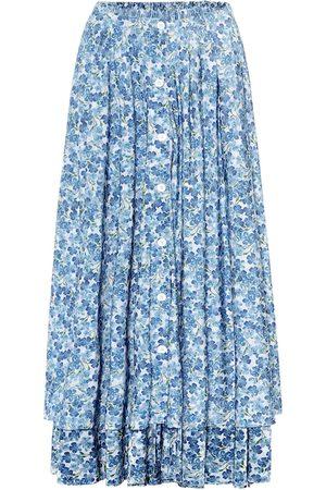 Vetements Falda midi floral