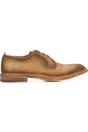 Officine creative Zapatos derby de tacón bajo