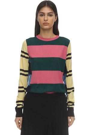 Colville | Mujer Suéter De Punto De Lana Con Rayas S