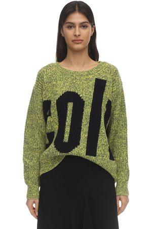 Colville Mujer Jerséis y suéteres - | Mujer Suéter De Punto De Lana Y Algodón Con Intarsia /multi S
