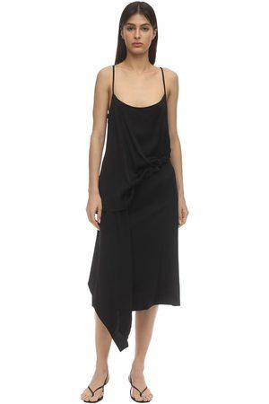 Colville | Mujer Vestido De Viscosa Con Cordones 38