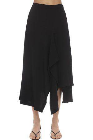 Colville | Mujer Falda Midi Drapeada Con Cintura Alta 40