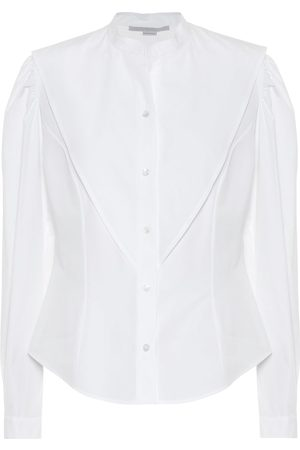Stella McCartney Camisa de popelín de algodón