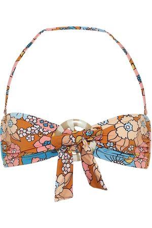 DODO BAR OR Top de bikini floral