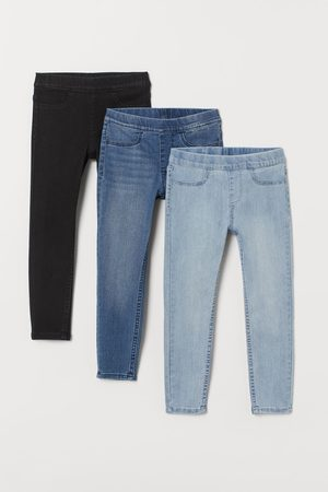 H&M Pack de 3 leggings vaqueros