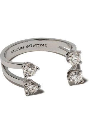 Delfina Delettrez Anillo con diamantes