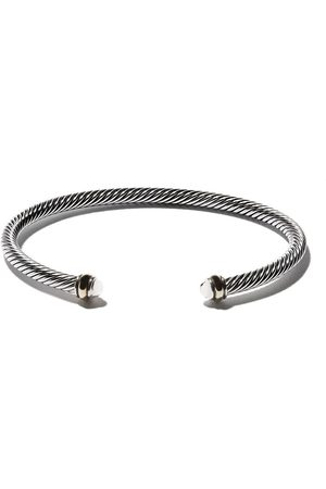 David Yurman Brazalete Cable en oro 18kt