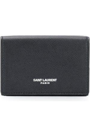Saint Laurent Hombre Carteras y monederos - Tarjetero texturizado