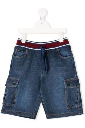 Dolce & Gabbana Flap-pocket drawstring shorts