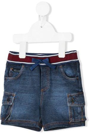 Dolce & Gabbana Kids Elasticated waist denim shorts