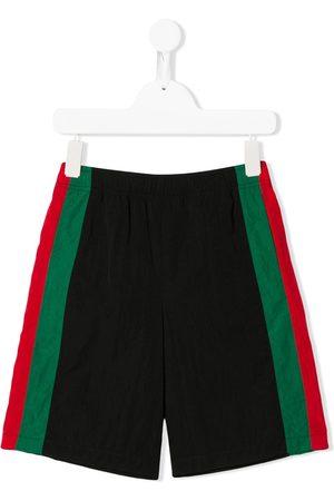 Gucci Bermudas - Stripe-detailed shorts